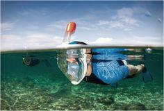 Suyun altında olduğunuzu unutacaksınız! Easybreath Snorkeling teknozarus.com