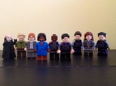 LEGO Lab Rats (from left to right) Krane, Douglas, Principal Perry, Tasha, Leo, Donald, Chase, Bree, and Adam: I want these so much