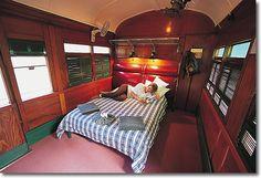Railway carriage accommodation