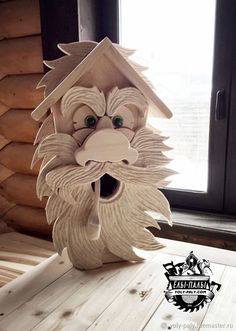 Homemade Bird Houses, Bird Houses Diy, Bird House Plans, Bird House Kits, Wood Projects, Woodworking Projects, Projects To Try, Squirrel Feeder Diy, Traditional Birdhouses