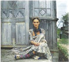 Model:Carmen Kass Photographer:Yelena Yemchuk
