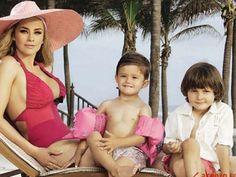 La ex de Luis Miguel y sus hijos