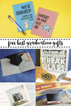 Find the five best graduation gift ideas on Everyday Party Magazine. #Graduation #GraduationGift