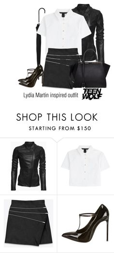 """Lydia Martin inspired outfit/TW"" by tvdsarahmichele ❤ liked on Polyvore featuring Danier, Marc by Marc Jacobs, Yves Saint Laurent, Fendi, TeenWolf, LydiaMartin and HollandRoden"