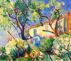 The Home of Signac, 'Les Cigales', Saint-Tropez, Henri Manguin, 1904