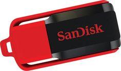 Memoria USB Sandisk Cruzer Blade Switch 16GB SDCZ52-016G-B35 #geek #tecnologia #oferta #regalo #novedades