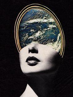 Illustration art vintage design s6 surrealism graphic design ...