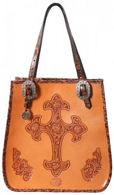 58fcadb8db96 Hand-Tooled Doctor s Bag by Double J Saddlery Leather Purses