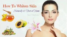 28 Recipes and tips on how to whiten skin naturally is a new article that shows you different way to get white skin. #SkinWhiteningCream #RetinolCream Skin Whitening Foods, Natural Skin Whitening, Teeth Whitening Remedies, Whitening Face, Whitening Soap, Honey For Acne Scars, Wrinkled Skin