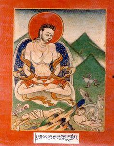 Indian Adept (siddha) - Rahula