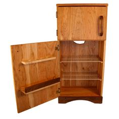 wooden fridge!