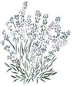 Lavender Stencil by sharon.smi