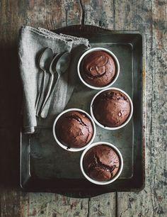 chocolate soufflé |