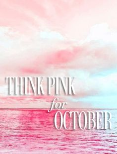 This October #thinkpink for Breast Cancer Awareness