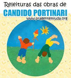 plano de aula para educação infantil com releitura das obras de Portinari