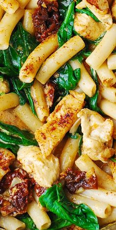 Chicken Pasta in a delicious creamy ASIAGO cheese sauce with lots of veggies!