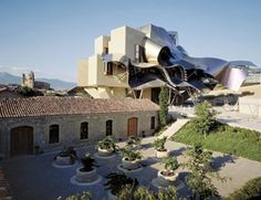 Frank Ghery's Hotel Marques de Riscal. La Rioja, Spain