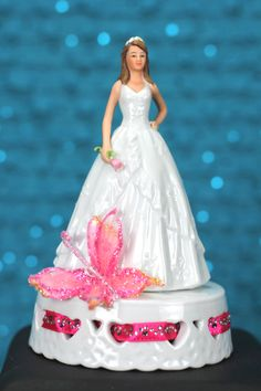 Quincea�era Cake Topper with Butterfly $49.95