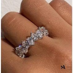 Eternity Ring Diamond, Eternity Bands, Diamond Bands, Diamond Wedding Bands, Wedding Rings, Diamond Stone, Diamond Anniversary Rings, Round Diamond Ring, Gold Ring Designs