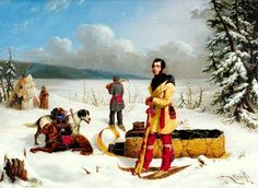 The Surveyor - CANADA: Portrait of Captain John Henry Lefroy by Paul Kane