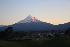 Mount Egmont - New Zealand.