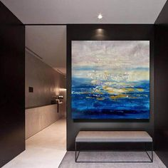 Large Abstract Painting on Canvas Large Painting on Canvas image 4 Large Artwork, Extra Large Wall Art, Large Painting, Original Paintings, Original Art, Original Image, Oil Paintings, Contemporary Abstract Art, Abstract Canvas Art