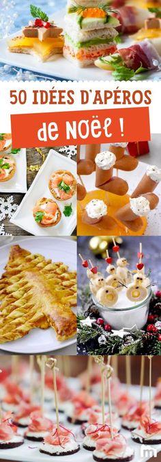 50 idées d'apéro festif pour se régaler à Noël /// #ElleHabiteLa #Marmiton #Aufeminin #Noël #recette #apéritif #recette