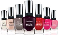 Sally Hansen This nail polish has lasted on my nails way longer than even a professional manicure lasts!