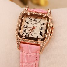 Women Big Diamond Brand Watches!Luxury Crystal Women Bracelet Watch Female  Dress Watch Ladies Rhinestone Wristwatches