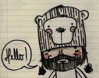 Mr. Dabo by Maria Palito, via Behance