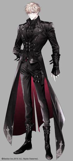 Garçon Anime Hot, Cool Anime Guys, Handsome Anime Guys, Fantasy Character Design, Character Design Inspiration, Warrior Outfit, Villain Costumes, Character Outfits, Anime Outfits