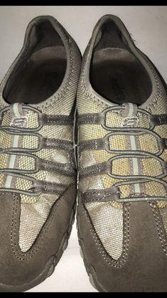 827128d67435 Women s Skechers Tennis Shies Slip On Tan Fashion Sneakers Metallic 8.5