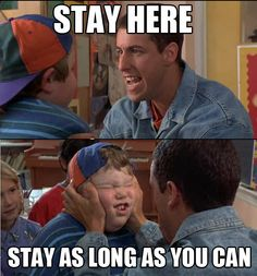 """Adam Sandler as """" Billy Madison """" , another cute & very funny movie! Adam Sandler is a funny man! Funny Movies, Good Movies, Movies Showing, Movies And Tv Shows, Movie Quotes, Funny Quotes, Adam Sandler, So Little Time, Comedians"""