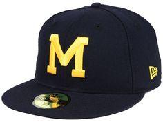 the best attitude 47d54 dbbf7 Michigan Wolverines New Era NCAA Vault 59FIFTY Cap