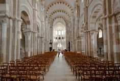 Vezelay Abby, France - the chruch where Lloyd and I got married
