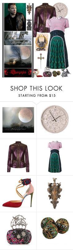 """Immortals - Round 9: The Future"" by fashionqueen76 ❤ liked on Polyvore featuring Disney, Roberto Cavalli, Mary Katrantzou, Christian Louboutin and Alexander McQueen"