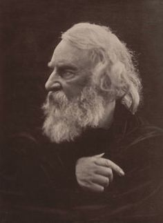 Portrait by Julia Margaret Cameron (1815-1879, British), 1868, Henry Wadsworth Longfellow. She is my all time favorite!!!!!!!