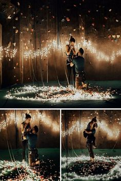 romantic marriage proposal ideas with string lightsYou can find Marriage proposals and more on our website.romantic marriage proposal ideas with string lights Romantic Proposal, Perfect Proposal, Proposal Photos, Engagement Proposal Ideas, Surprise Proposal, Romantic Ideas, Wedding Fotos, Dream Wedding, Wedding Day