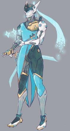 Oooooooo....Genji Symmetra fusion