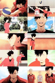 Kuroo Haikyuu, Kuroo Tetsurou, Haikyuu Anime, Baby Crows, Fairy Tail Love, Akaashi Keiji, Kurotsuki, Kuroken, Sad Art