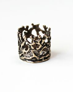 Unearthed Crown Ring by JewelMint.com, $44