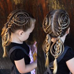 Cookie Cutter Braid. ¡Qué hermoso!