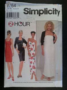 Simplicity 8764 Misses 2 Hour Pullover Knit by Noahslady4Patterns