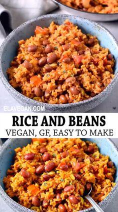 Tasty Vegetarian Recipes, Vegan Dinner Recipes, Whole Food Recipes, Cooking Recipes, Healthy Recipes, Healthy Food, Healthy Meals, Dinner Healthy, Gluten Free Dairy Free Vegetarian Recipes