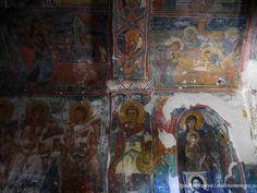 единственная сохранившаяся #фреска в монастыре Ком на Скадарском озере Painting, Art, Art Background, Painting Art, Kunst, Paintings, Performing Arts, Painted Canvas, Drawings