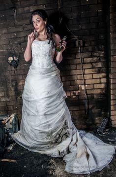 On dress fire the trash