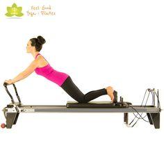down stretch pilates reformer exercise 2 - Tattoo MAG Pilates Video, Pilates Workout, Pilates Body, Pilates Reformer Exercises, Workouts, Pilates Studio, Aeropilates Reformer, Pilates Machine, Pilates Chair