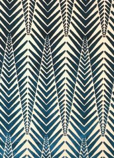 """Neisha Crosland for Clarence House """"Zebra Velvet"""" in Silver Blue African Textiles, African Fabric, African Patterns, African Prints, Textile Patterns, Textile Prints, Pattern Art, Pattern Design, Batik Pattern"""