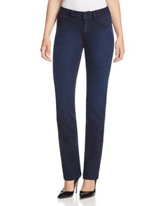 Nydj Marilyn Straight Leg Jeans in Paris Nights