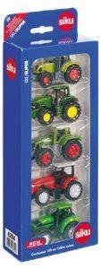 "Siku 1:87 ""Siku"" Gift Set - 5 Tractors: Amazon.co.uk: Toys & Games"